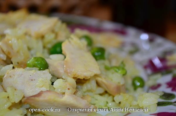 Куриное филе в горчичном маринаде