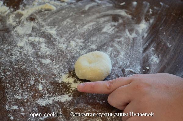 Сладкие пирожки с щавелем
