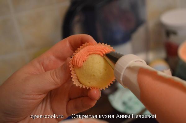 Масляный крем для капкейков