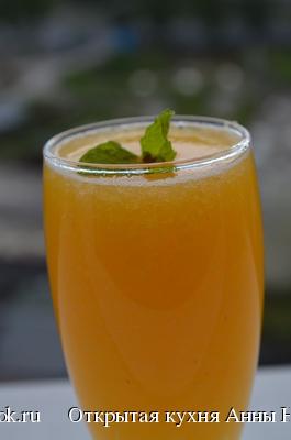 Персиковый напиток