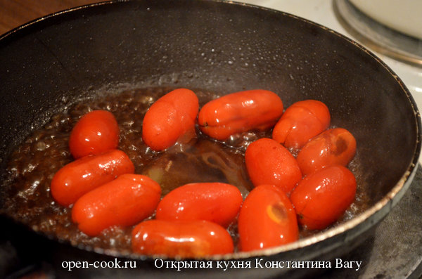 Томаты конфи или помидоры черри в карамели