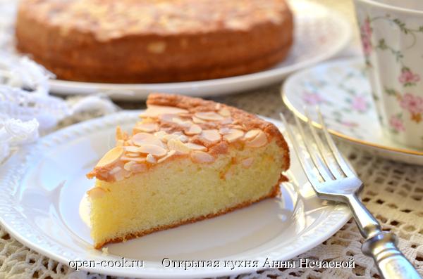 Французский миндальный кекс