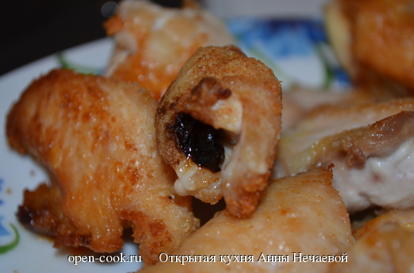 Пятничное филе с сыром и черносливом