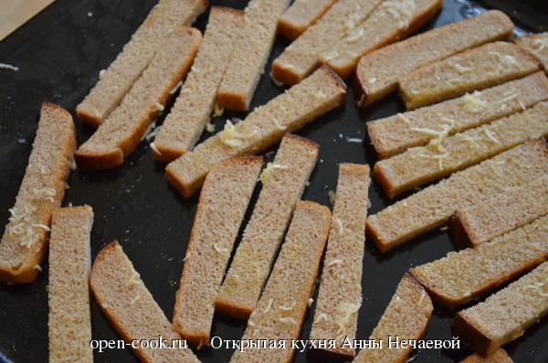 Как приготовить сухарики с добавками в домашних условиях