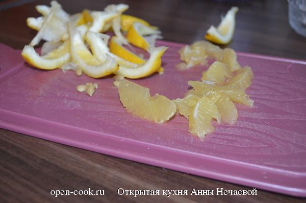 Лимонно-клубничный кекс