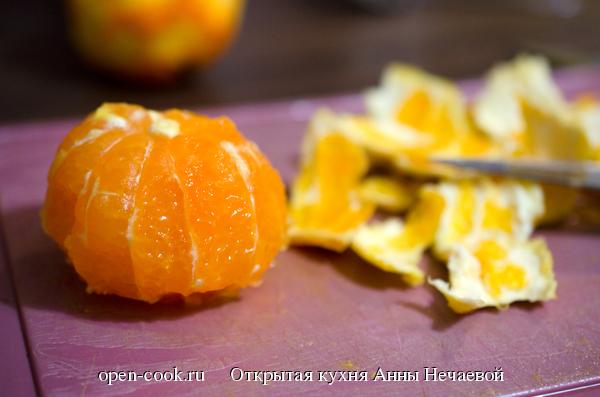 Как сделать мандарины в желе