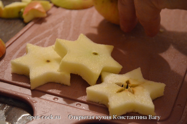 Новогоднее канапе с лососем и луковым мармеладом от Константина Вагу