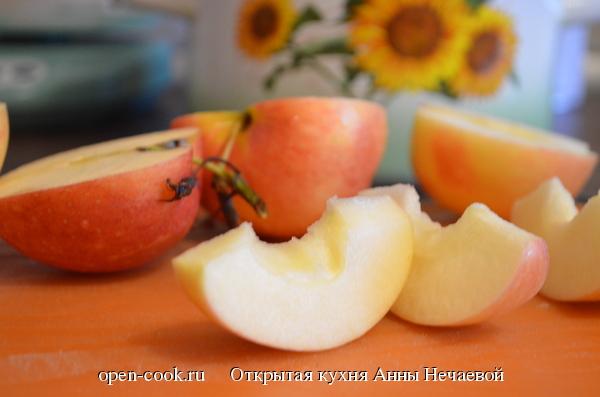 Пастила из яблок и брусники