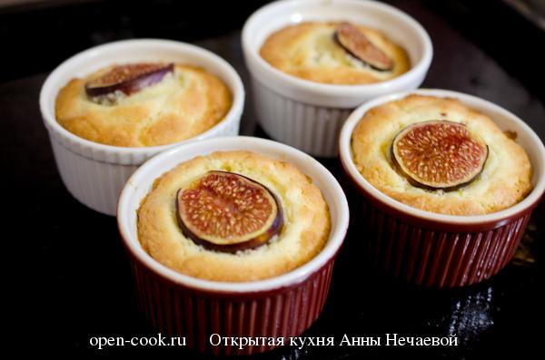 Мини кексы с инжиром и апельсином