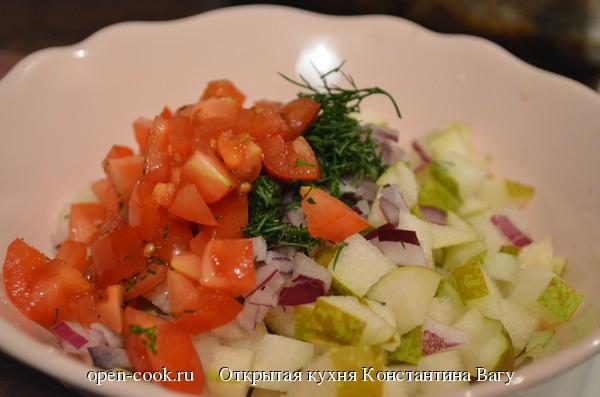 Фруктово-овощной чатни или безумно вкусный соус к рыбе