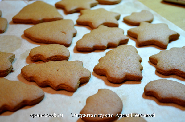 имбирем печенье рецепт