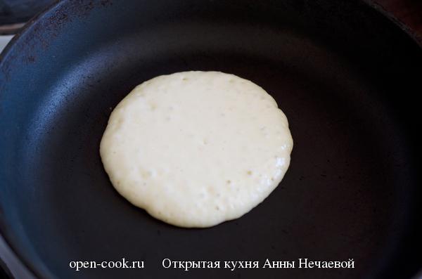 Рецепт диетических панкейков пошагово