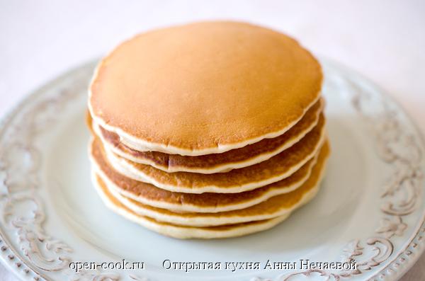 рецепт панкейков с фото пошагово