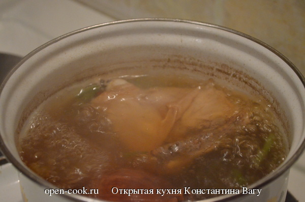 Куриный бульон от Константина Вагу