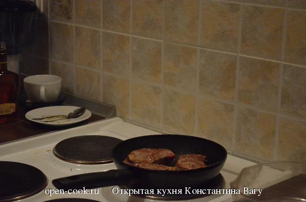 Филе Миньон в сливочно-коньячном соусе от Константина Вагу