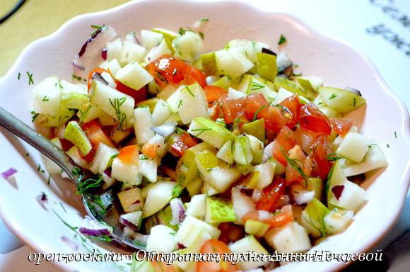 Фруктово-овощной чатни или безумно вкусный соус к рыбе от Константина Вагу