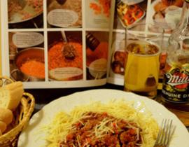 Паста с соусом болоньезе , пошаговый рецепт с фото