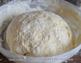 Быстрое тесто для плюшек