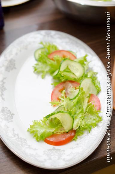 Салат с печеной свеклой