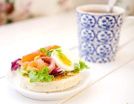 бутерброды с лососем рецепты с фото