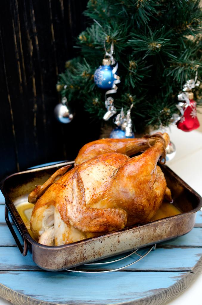 курица на новый год рецепты с фото так