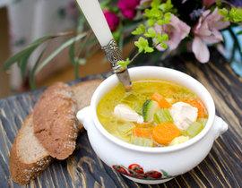Куриный суп с овощами, пошаговый рецепт с фото