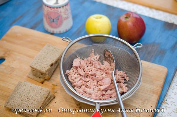 Закуска с тунцом