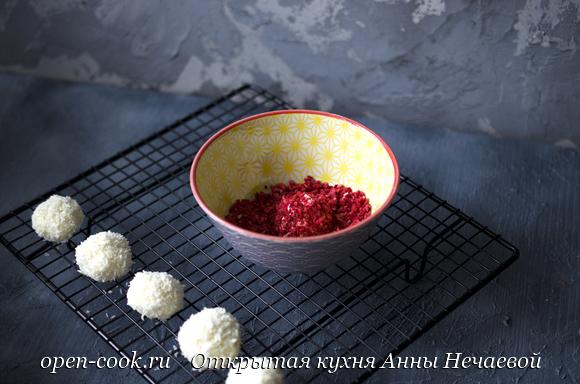 Трюфели из белого шоколада