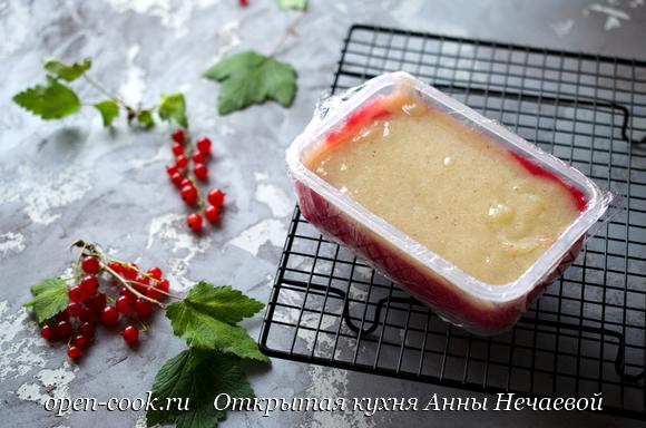 Мармелад из смородины на агаре