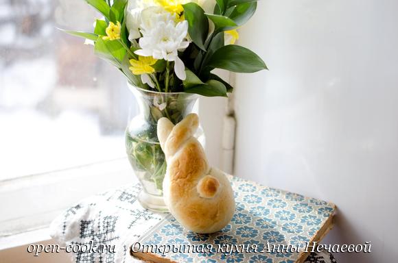 Булочки Пасхальные кролики