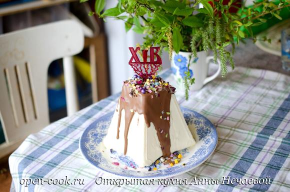 Пасха с белым шоколадом